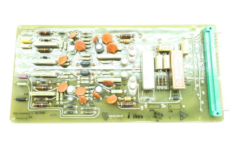 General Electric Ge 994D129G2 994D128-0 Volt Comparator Pcb Circuit Board