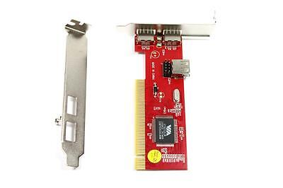 New Dell 2.0 USB 3 Ports Low Profile PCI Internal Port Expansion Adapter Card