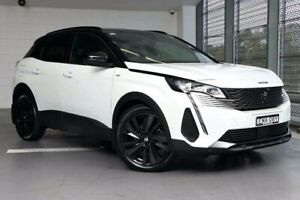 2021 Peugeot 3008 P84 MY21 GT Sport SUV White 8 Speed Sports Automatic Hatchback