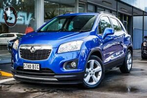 2015 Holden Trax TJ MY15 LTZ Blue 6 Speed Automatic Wagon Somerton Park Holdfast Bay Preview