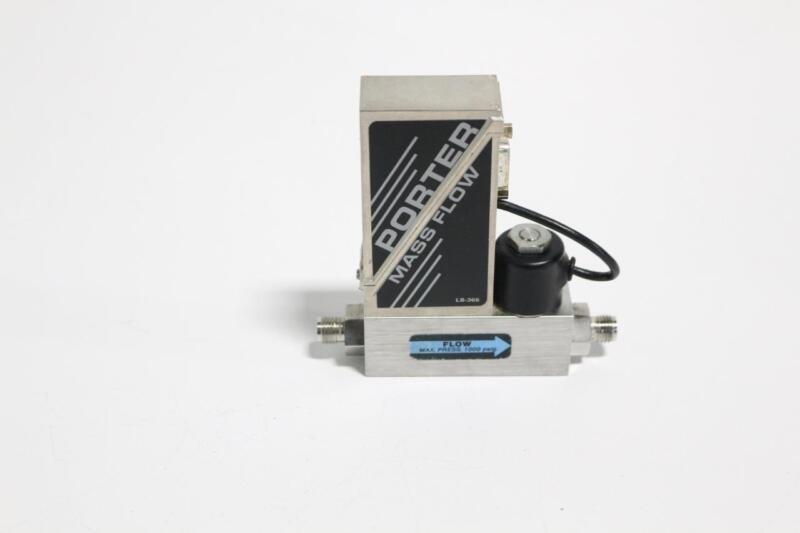 Porter Type 201-DKHSVCAA Mass Flow Controller, Nitrogen, 1 SLPM