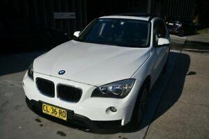 2013 BMW X1 X1 SDRIVE20I Sport Line White Wagon Springwood Logan Area Preview