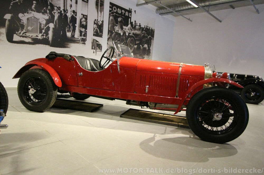 Alfa Romeo 6C 1500 Super Sport Works Team Car 1929