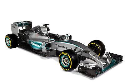 MERCEDES BENZ W06 FORMULA 1 F1 RACE CAR POSTER PRINT STYLE D 24x36 9 MIL PAPER for sale  Denver