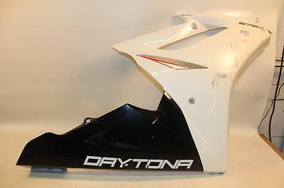 Triumph Daytona 675R 675 R 2012 Right Side Fairing Cover Panel CRACK RASH