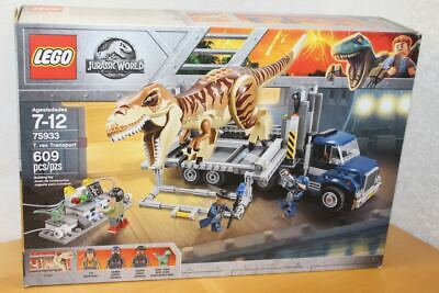LEGO JURASSIC WORLD 75933 T. REX TRANSPORT SET NEW SEALED