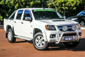2008 Holden Colorado RC LT-R Crew Cab White 4 Speed Automatic Utility Cannington Canning Area Preview