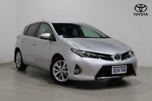 2012 Toyota Corolla ZRE182R Ascent Sport S-CVT Silver Pearl 7 Speed Constant Variable Hatchback