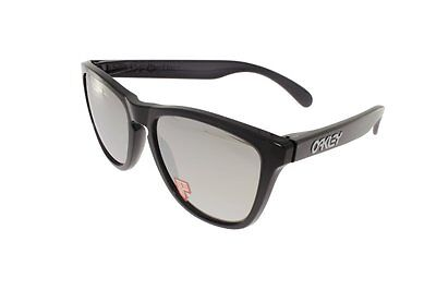 OAKLEY FROGSKINS Black Ink / Chrome Iridium POLARIZED 9013-10