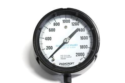 Ashcroft Duragauge Plus Pressure Gauge 0-2000 Psi
