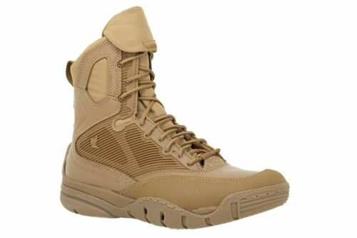 """Lalo Shadow Amphibian 8"""" Tactical Boots - Coyote"""