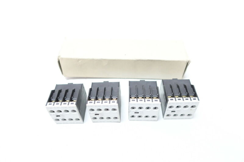 Set Of 4 Eaton XTCEXFAC40 Auxiliary Contact