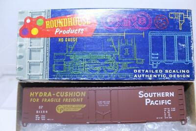ROUNDHOUSE HO SCALE SOUTHERN PACIFIC 50' HYDRA CUSHION BOX CAR (Ho Southern Pacific Boxcar)