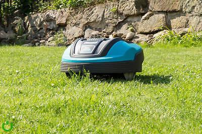 Der Rasen mäht sich dank intelligentem System ganz von allein. (© www.siio.de)
