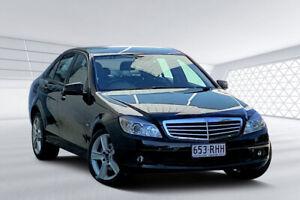 2011 Mercedes-Benz C220 W204 MY10 Upgrade CDI Black 5 Speed Auto Tipshift Sedan