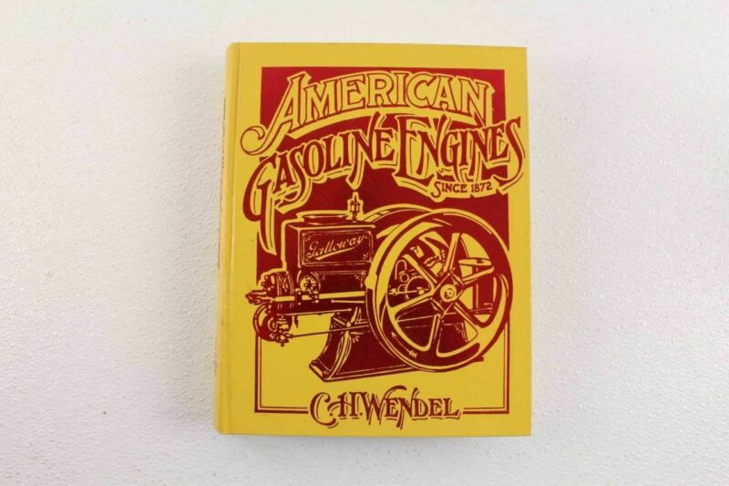 American Gasoline Engines Hardcover Book By C H Wendel Excellent