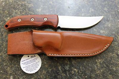 Ontario 8172 Robeson Heirloom Trailing Point Fixed Blade Knife & DeSantis Sheath