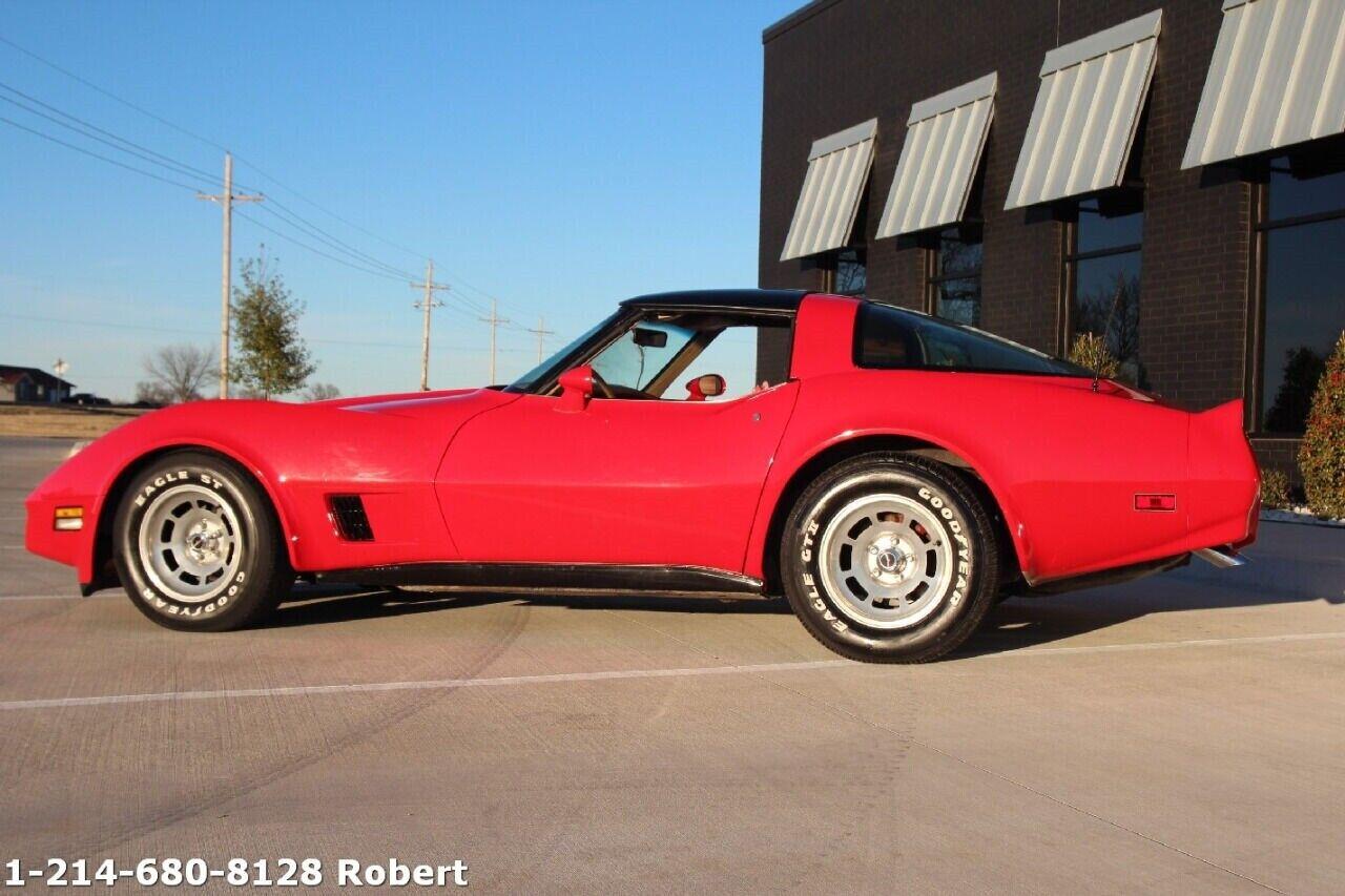 1981 Red Chevrolet Corvette Coupe  | C3 Corvette Photo 6