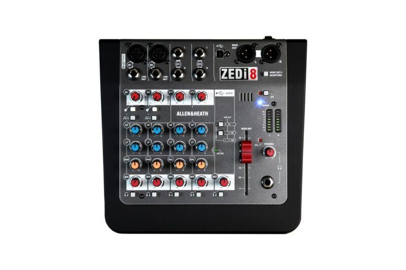 Allen & Heath AH-ZEDI8 Hybrid Compact Mixer/USB Interface