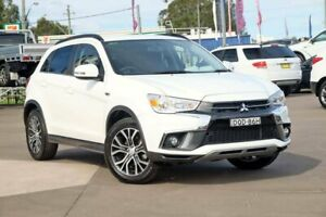 2017 Mitsubishi ASX XC MY17 LS 2WD White 6 Speed Constant Variable Wagon McGraths Hill Hawkesbury Area Preview