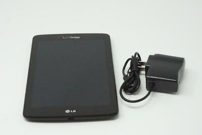LG G Pad 7.0 Verizon VK410 Black Tablet Very Good Used Working Condition Y061