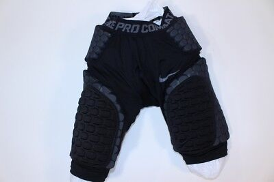 Nike Pro Combat Football Padded Protective Under Compression Shorts Small