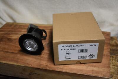 WAC Lighting HTK-103LED  Black with GU10Led-bab Dimmable Bul