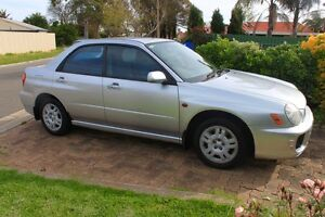 2001 Subaru Impreza GX Sedan One Tree Hill Playford Area Preview