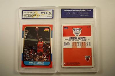 MICHAEL JORDAN 1996-97 Fleer ULTRA DECADE #U4 Rookie Card - GRADED GEM MINT 10