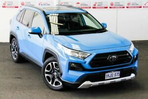 2020 Toyota RAV4 Axaa54R Edge AWD Eclectic Blue 8 Speed Sports Automatic Wagon Myaree Melville Area Preview