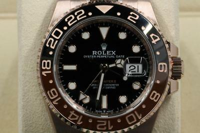 Rolex Gmt-Master II 126715 Black Index Dial Brown & Black Bezel UNUSED