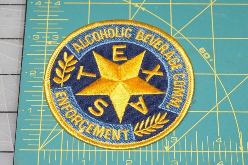 Alcoholic Beverage Comm. Enforcement Texas Patch (999)