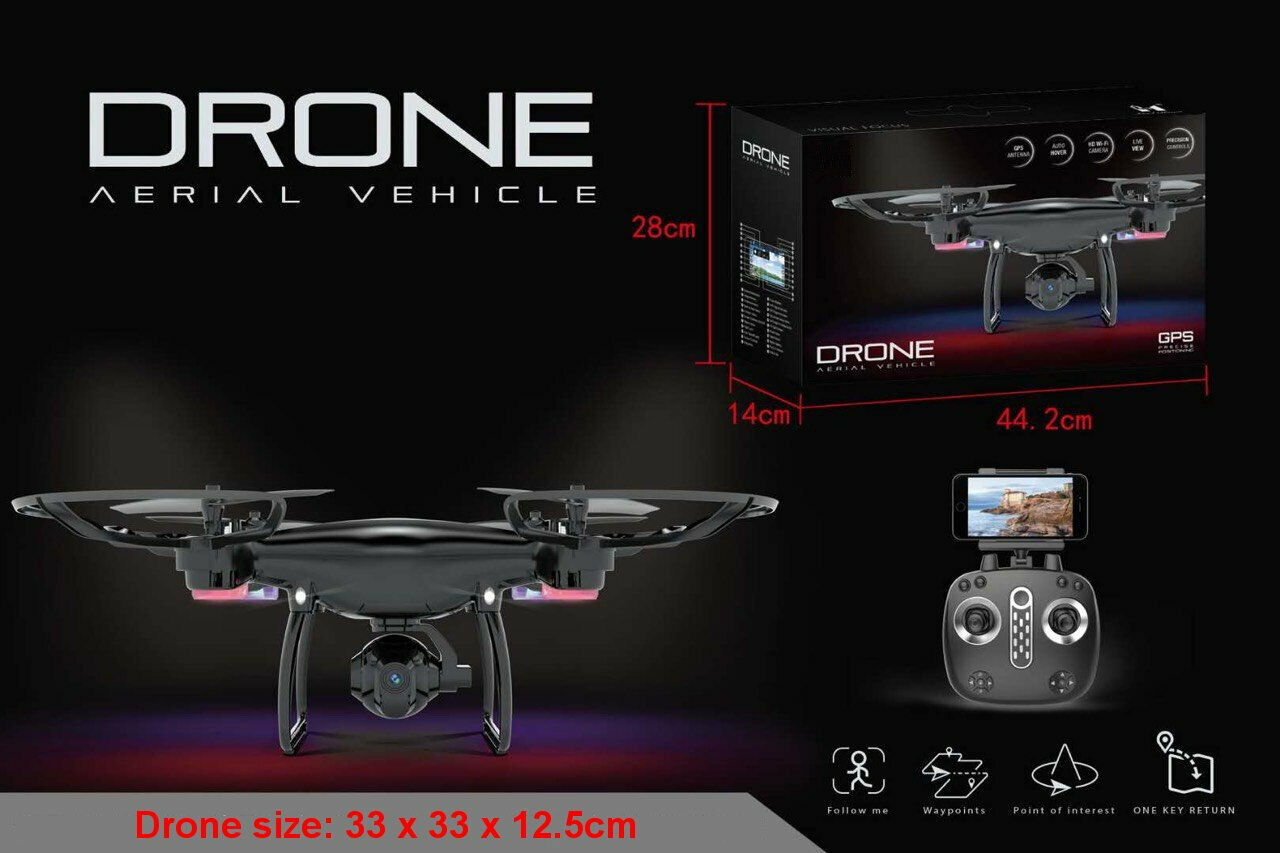 RC Drone Quadcopter LH GPS X25W WIFI FPV Camera GPS / Waypoint / Follow Me