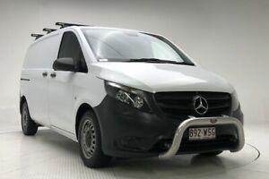2016 Mercedes-Benz Vito 447 114BlueTEC LWB 7G-Tronic + White 7 Speed Sports Automatic Van