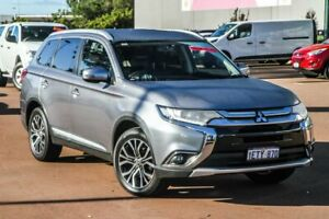 2015 Mitsubishi Outlander ZK MY16 LS 2WD Silver, Chrome 6 Speed Constant Variable Wagon Cannington Canning Area Preview