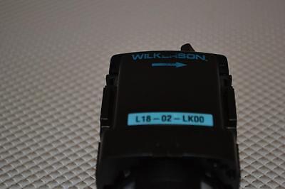 One Used Wilkerson Pneumatic Lubricator L18-02-lk00.
