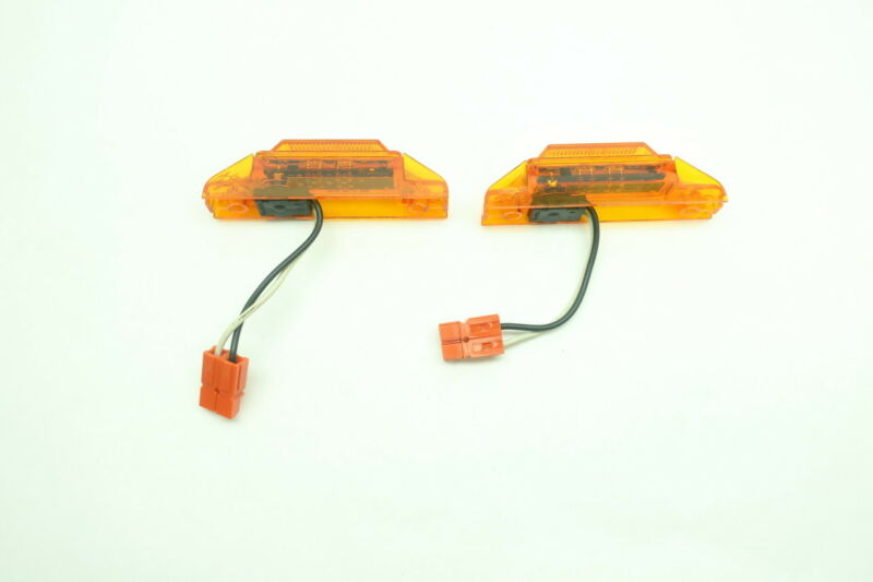 2x Truck-lite MODEL 35 Amber Marker Clearance Led Light