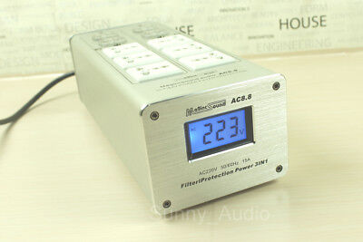 Brand New AC8.8 10 Way Hi End Mains Audio Power Filter protection 3 in 1