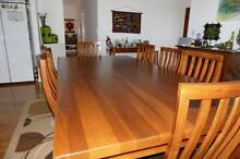 Solid Timber Dining Suite Tamborine Mountain Ipswich South Preview
