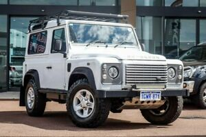 2014 Land Rover Defender 90 14MY White 6 Speed Manual Wagon