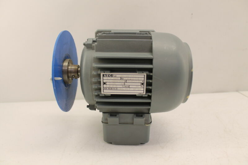 AEG AM 56 KY4 Motor 220/380V .42/.24A .06KW 1300 RPM