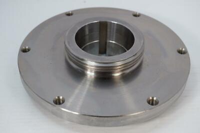Nos Pratt Burnerd 8 Steel Set-rite Setrite Lathe Chuck Back Plate. L00 L-00