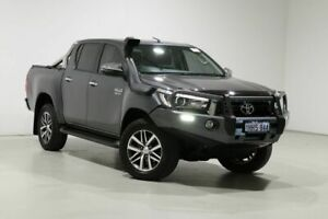 2018 Toyota Hilux GUN126R MY19 SR5 (4x4) Grey 6 Speed Automatic Double Cab Pick Up