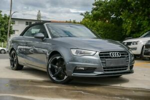 2015 Audi A3 8V MY16 Ambition S Tronic Grey 7 Speed Sports Automatic Dual Clutch Cabriolet