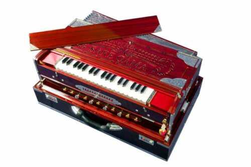 Exclusive Concert Quality Portable 13 Scale Changer 4 Reed Indian Teak Harmonium
