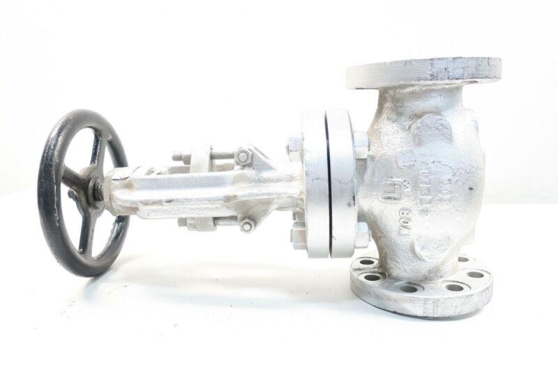 Lukenheimer 1600-B2 Manual 300 Steel Flanged Globe Valve 2in