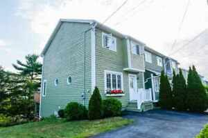 18-075 Fully Furnished  End Unit Townhouse in Bedford.
