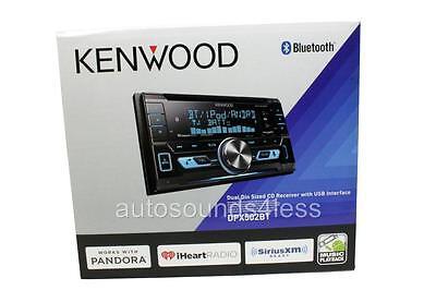 Kenwood DPX502BT CD/MP3/WMA Player Bluetooth SiriusXM Radio Ready Remote Control