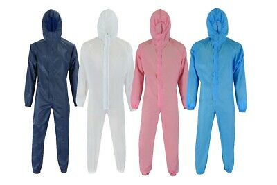 Washable Reusable Coverall Durable Boiler Hood Painters Protective Overalls Suit