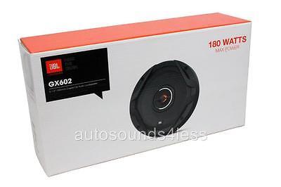 """JBL GX602 180 Watts GX Series 6.5"""" 2-Way Coaxial Car Audio Speakers 6-1/2"""" New"""